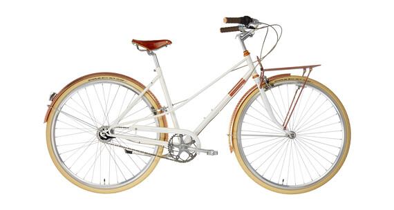 Creme Caferacer Doppio City Bike Women white